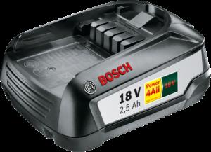 Bosch akumuliatorius PBA 18V 2.5Ah W-B