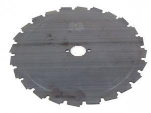 22 dantų metalinis krūmapjovės diskas