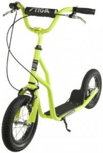 Paspirtukas Stiga Air Scooter 12'' (žalias)(Akcija - 20%, kaina nurodyta su nuolaida)
