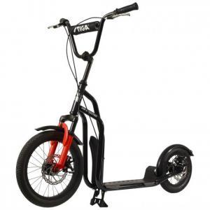 """Paspirtukas Stiga Air Scooter SA 16"""" (juodas)"""