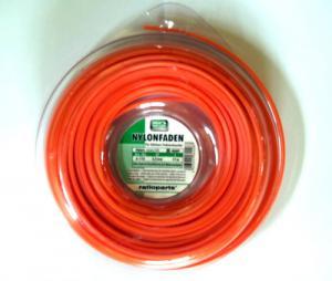 Pjovimo gija Ratioparts Nylon line (2,4 mm/15 m; raudona, 6-briaunė)