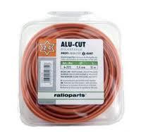 Pjovimo gija Ratioparts AluCutline (3,0 mm/15 m, oranžinė, 6-briaunė)