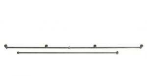 Purškimo vamzdis 100cm su 4 purkštukais  ir 75cm atvamzdis