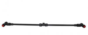 Dviguba purškimo sija, su dviem purkštukais, 60 cm