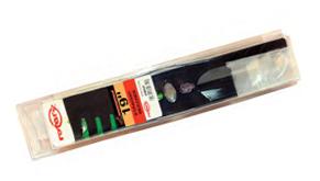 Universalus vejapjovės peilis, žemintas, su dantukais, 48,3 cm.