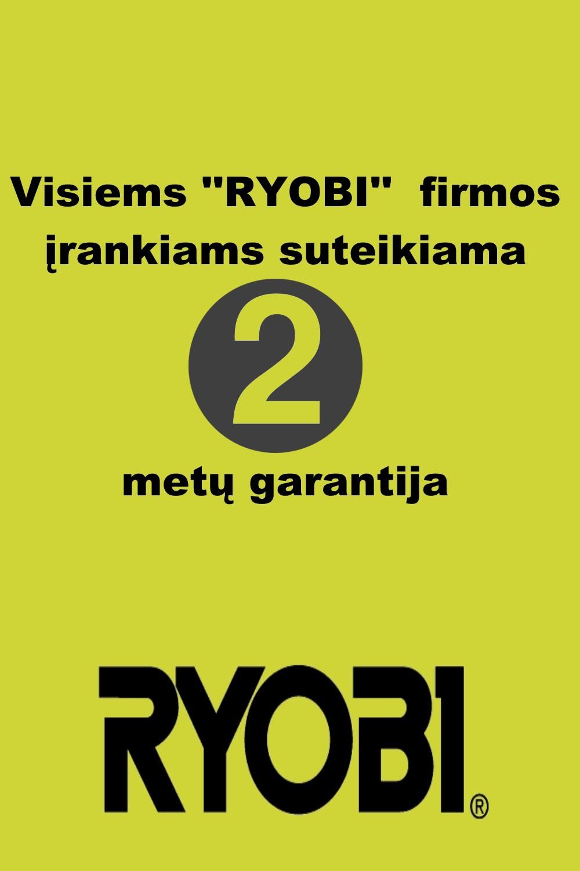 Ryobi garantija
